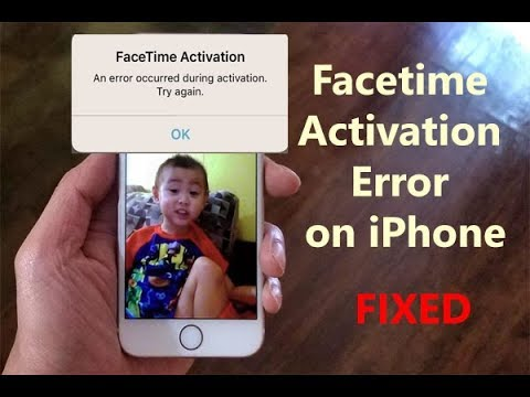 Facetime Activation Error on iPhone After iOS 12 Update?Here's the Fix