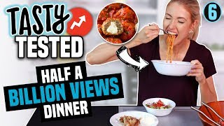 I Tried Making a TASTY BUZZFEED DINNER with HALF A BILLION VIEWS?!