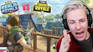 NEW Fortnite FAKE???!! What can REALM ROYALE do?