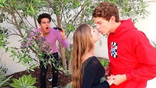 "SPYING ON MY LITTLE SISTER AND HER ""BOYFRIEND!!"" 