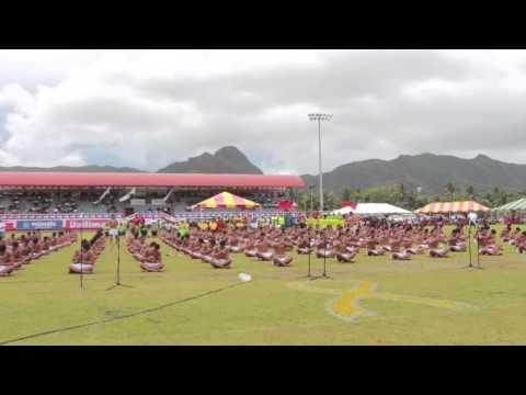2015 Am. Samoa Flag Day - Don Bosco Siva
