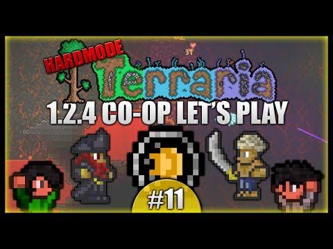 Fastest Pirate Invasion Ever! Sorcerer Emblem! || Terraria Co-Op Survival [Episode 11]