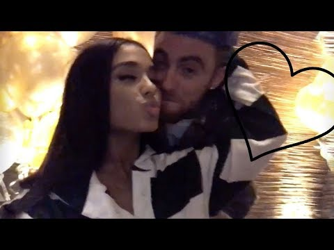 Ariana Grande and Mac Miller moments #4