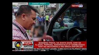 Babaeng piskal at kaniyang asawa na nakipagtalo sa MMDA enforcer, nag-sorry sa MMDA