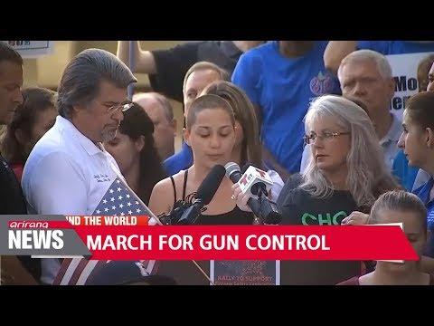 Florida school shooting survivors to march on Washington to demand action on gun control
