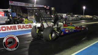 2016 IHRA Rocky Mountain Nationals Part 24: (A/Fuel and Top Fuel Dragster Exhibition)