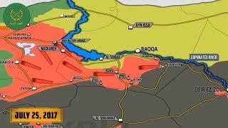 25 июля 2017. Военная обстановка в Сирии. Россия объявила об успехах в Алеппо с июня.Русский перевод