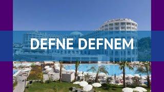 DEFNE DEFNEM 5* Турция Сиде обзор – отель ДЕФНЕ ДЕФНЕМ 5* Сиде видео обзор