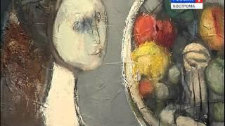 В Костромской муниципальной галерее сегодня открылась выставка графики московского художника