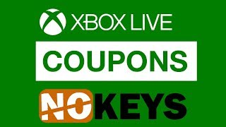 Xbox Live Coupons. How to get discount at No Keys