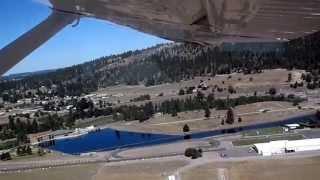 Cessna-180 Skywagon Takeoff - Felts Field