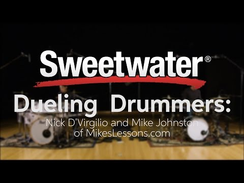 Dueling Drummers: Nick D'Virgilio and Mike Johnston of MikesLessons.com