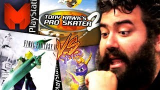 The BEST PS1 Games? Final Fantasy VII vs Spyro the Dragon vs Tony Hawk's Pro Skater 2 - Madness
