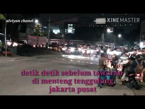 Detik2 sebelum tawuran antar geng di Menteng Jakarta pusat