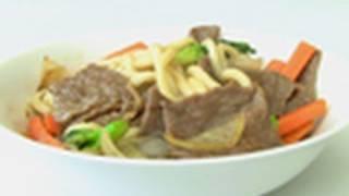 Teriyaki Beef Noodles - Video Recipe