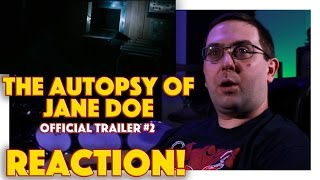 REACTION! The Autopsy of Jane Doe Official Trailer #2 - Emile Hirsch Movie 2016