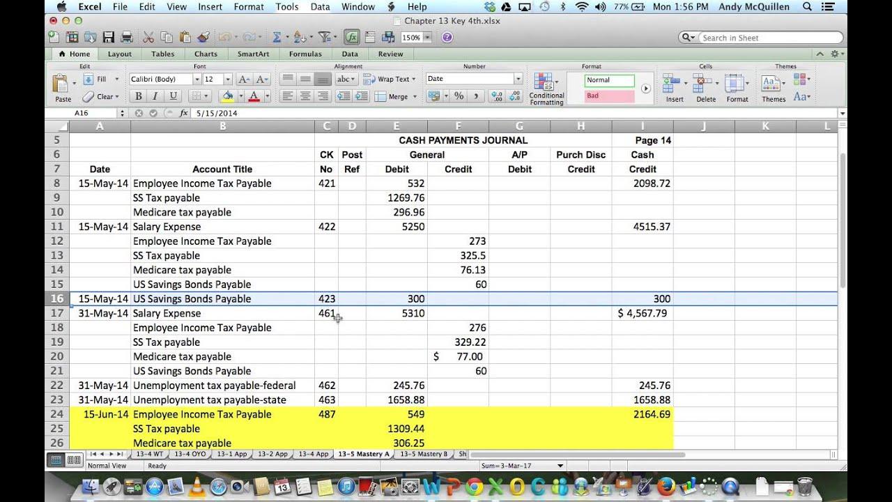13 5 mastery accounting 1 youtube rh youtube com