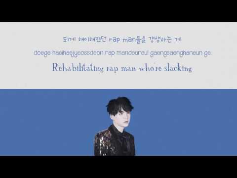 BTS Cypher 4 — Suga's part (+lyrics)