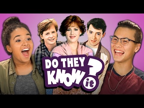 DO TEENS KNOW 80s MOVIES? (REACT: Do They Know It?)