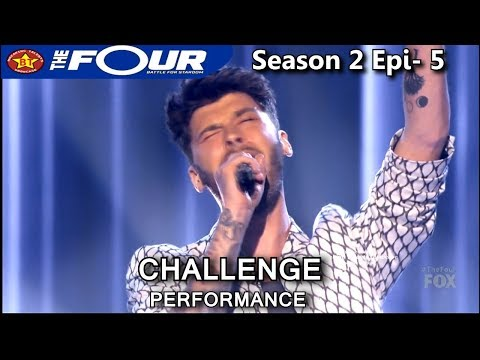 "James Graham Sings ""On Bended Knee"" The Four Season 2 Ep. 5 S2E5"
