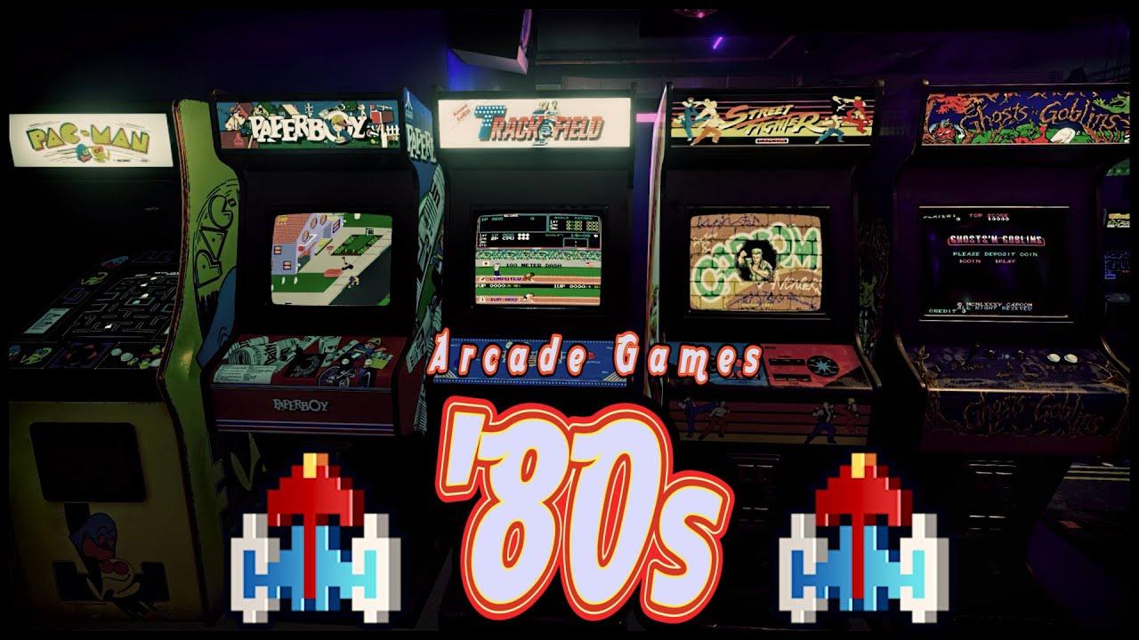 The 80s Arcade VIRTUAL TOUR