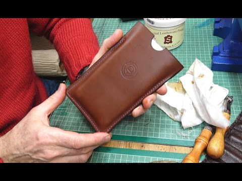 Making A Leather Phone Case - Step By Step Project