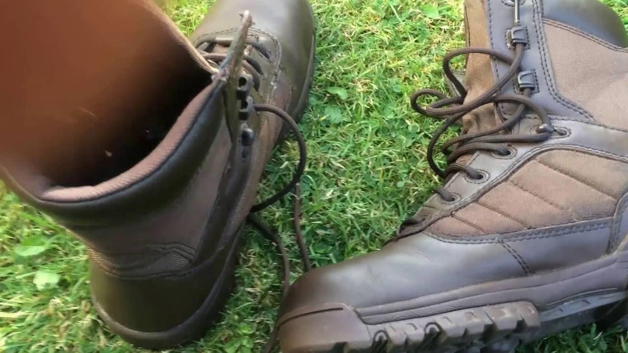 dd372488840 Bates MOD Brown Boots Ex British Army