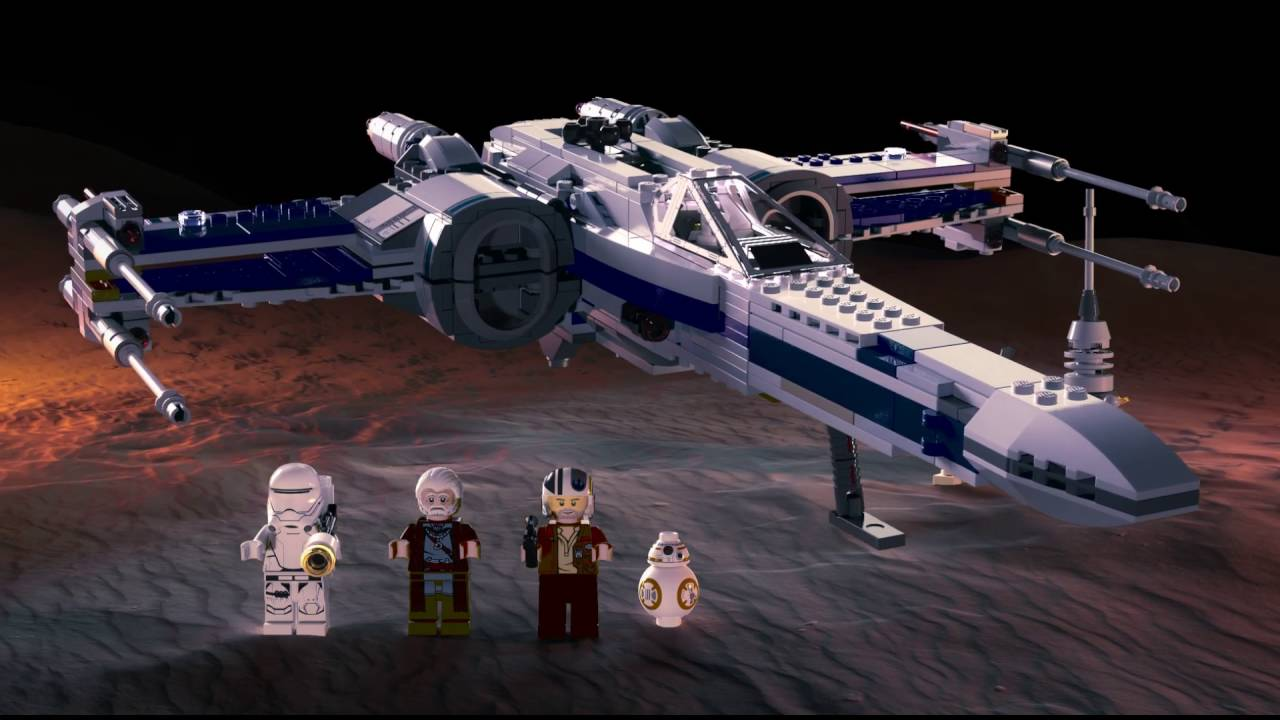 Resistance X Wing Fighter Lego Star Wars Product Animation 75149 75102 Poeamp039s Youtube