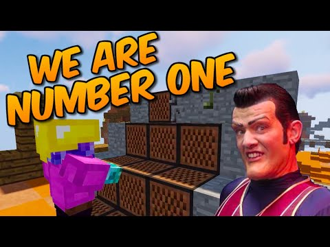 Using We Are Number One To Win Skywars