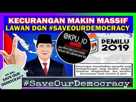SUPERR ! KPU SALAH INPUT DATA, NITIZEN TERIAK #SAVEOURDEMOCRACY TRENDING TOPIC ! #PRABOWOPRESIDEN !