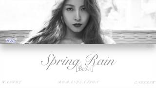 [HAN|ROM|ENG] BoA (보아) - Spring Rain (봄비) (Color Coded Lyrics)