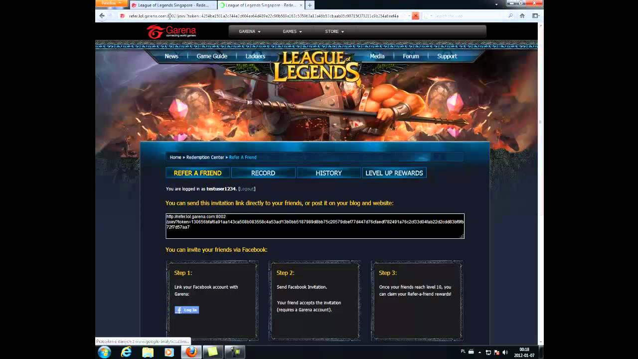 league of legends private server download