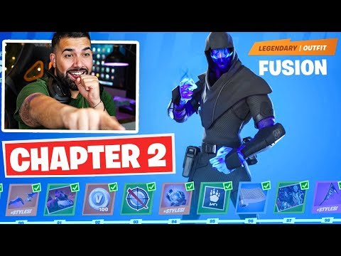 Fortnite CHAPTER 2 BATTLE PASS UNLOCKED! - Tier 100 Rewards Unlocked!