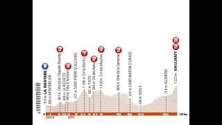 Giro del Delfinato 2016 5a tappa La Ravoire-Vaujany (140 km)