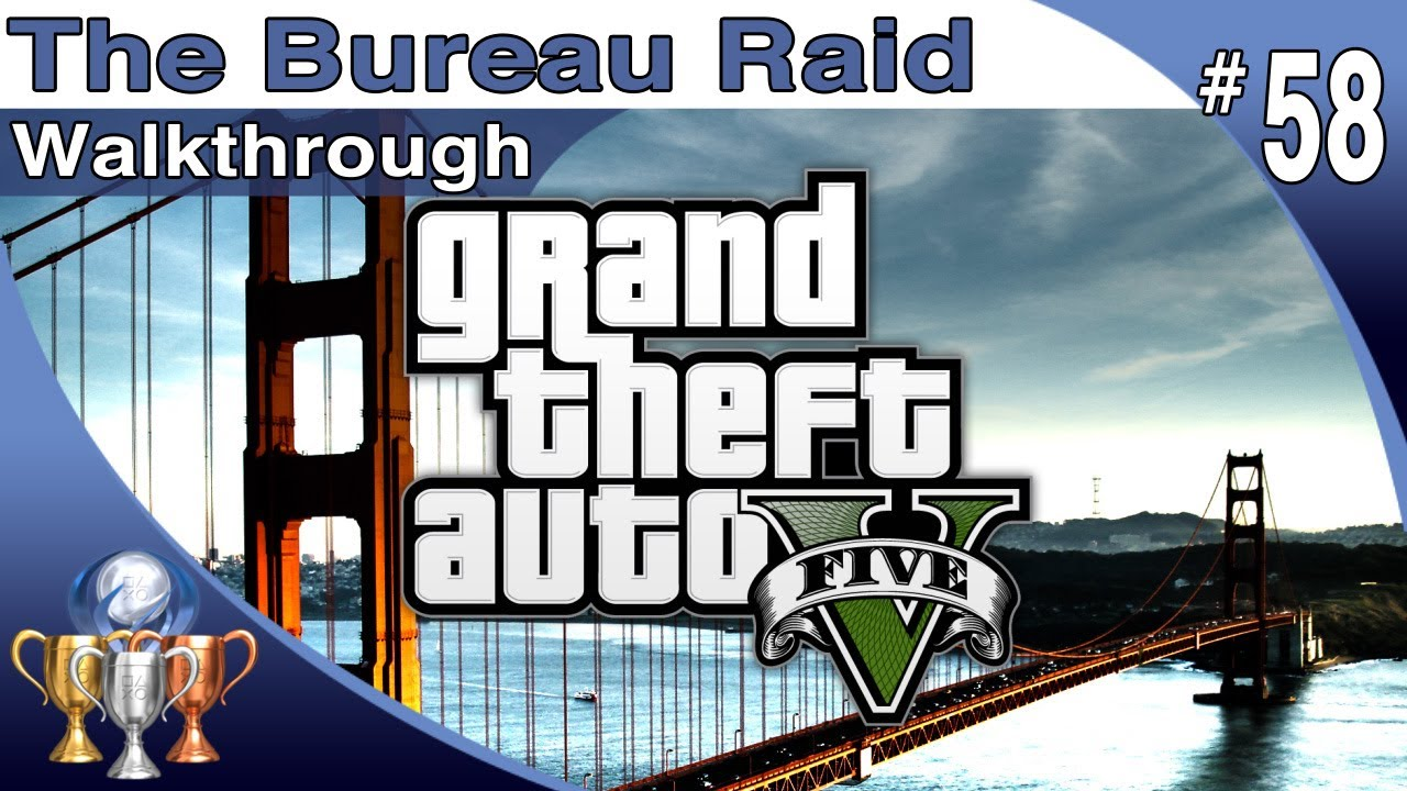 gta 5 walkthrough part 58 the bureau raid raid on fib grand theft auto v