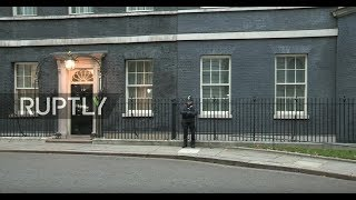 LIVE: UK cabinet ministers meet at Downing Street before Brexit vote