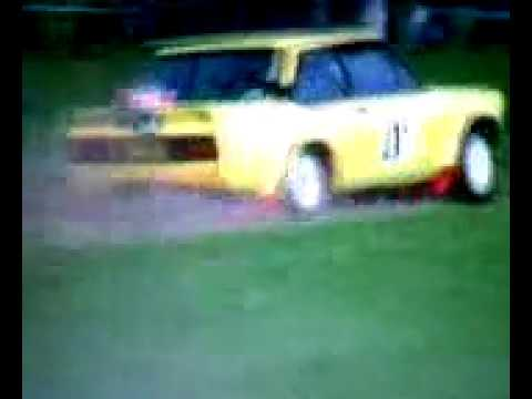 Fiat 131 Abarth - Roger Morgan