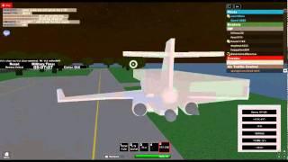 Boeing 727 crash (ROBLOX)