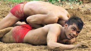 Kushti Wrestling कुश्ती Indian Wrestlers Training at Bijnor Akhara