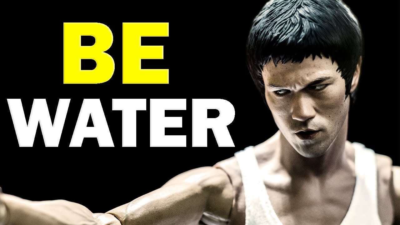 Bruce Lee Quotes - Be Like Water | Bruce Lee Wisdom Motivation