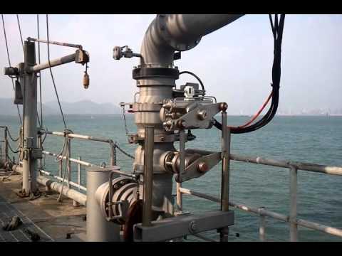Marine loading arm ERS test