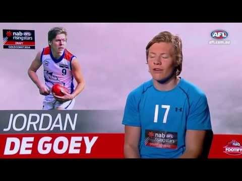 Draft Trumps Jordan De Goey Youtube
