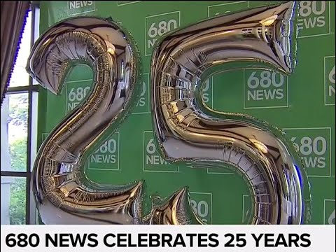 680 NEWS celebrates 25 years with party at Liberty Grand