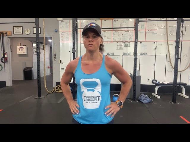 Mt  CrossFit Wod 5 21 2020
