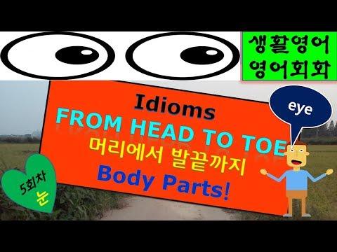 영어회화 Idioms From Head To Toe For Eyes(5) 소중한 옥동자, Adam's Apple은 무엇일까요? 제 눈의 안경끼고 다니시죠? thumbnail