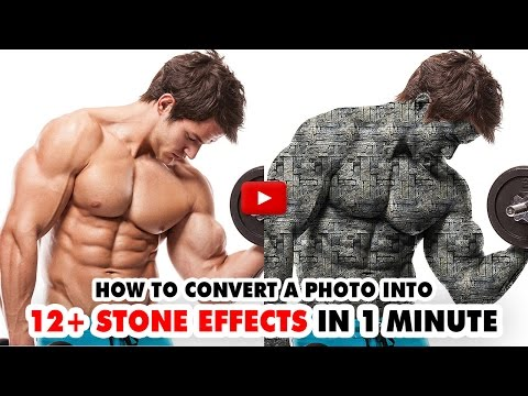 12 Stone Effects Photoshop Action - Video Tutorial | Mesothelioma Attorney Directory Of Photoshop