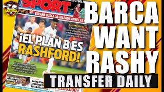 Barcelona make official approach for Marcus Rashford? Transfer Daily