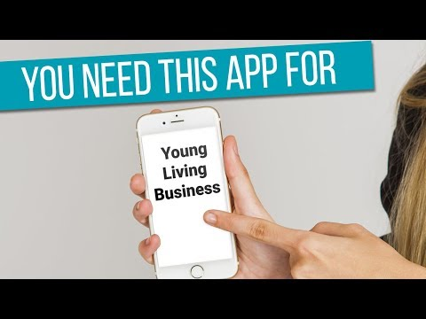 You need this app for Young Living Business!