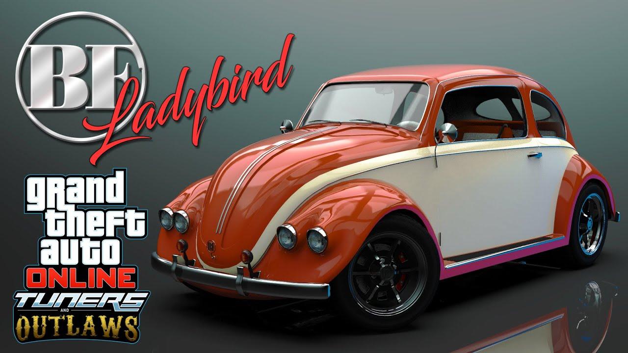 GTA 5 CLASSIC BEETLE DLC Trailer BF Ladybird Car Mod
