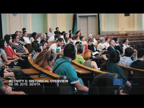 Europe for citizens 2016 Senta/Zenta